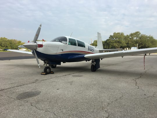Planes such as this single-engine Mooney aircraft are