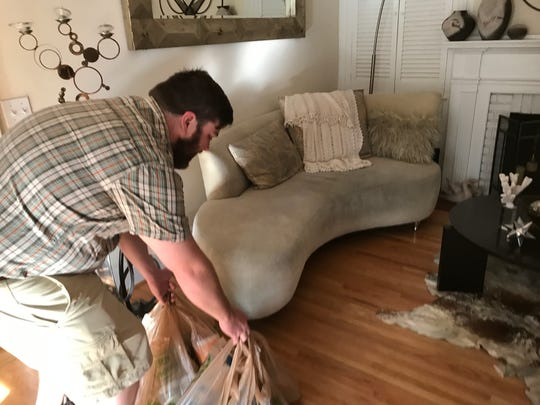 Wegman's home delivery by a subcontractor who works for Instacart.