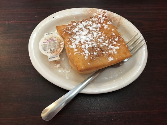 The sopapillas at El Sancho in Iowa Park may not be as fluffy as the Lunch Bunch has experienced before, but they definitely hold their own on taste.