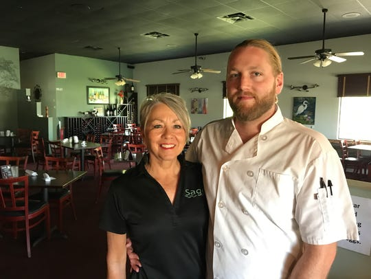 Mother-son team Sara and Jordan Malmstrom are owners