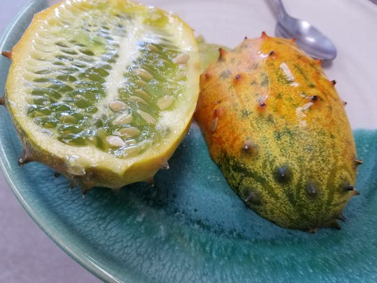 Be sure to wait until your Kiwano fruit are ripe and