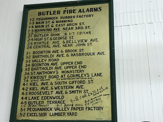 Old time fire alarm dispatch system located in the