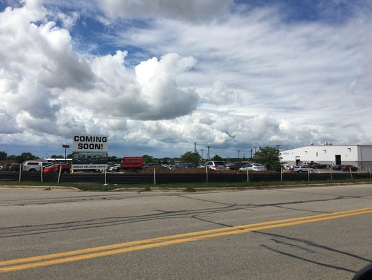 Dorsch Ford intends to build a collision center on