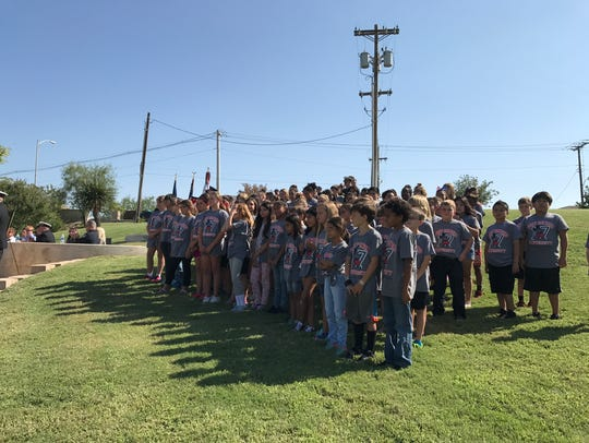 Fort Concho Elementary students