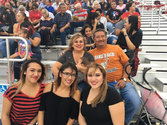 Riverside fans were happy to be at Silver Fox Stadium to cheer their team on.