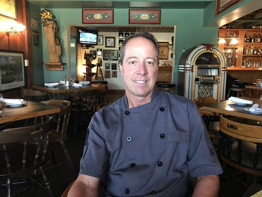 Rand Morgan is executive chef at Pineda Crossing Bar & Grill in Palm Shores.