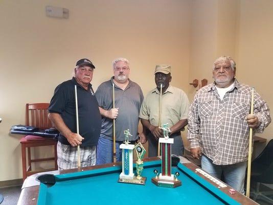 Friendship Pool Winners August