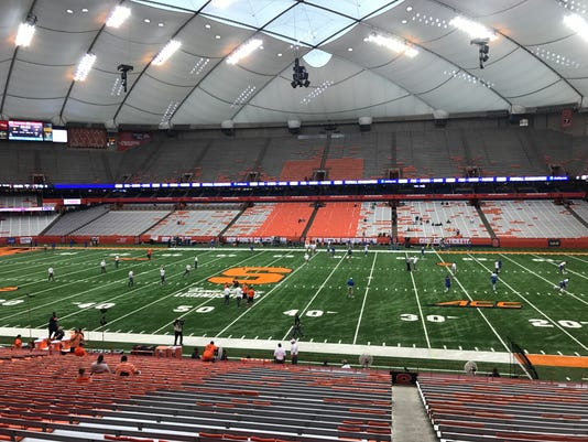 Carrier Dome, Sept. 9