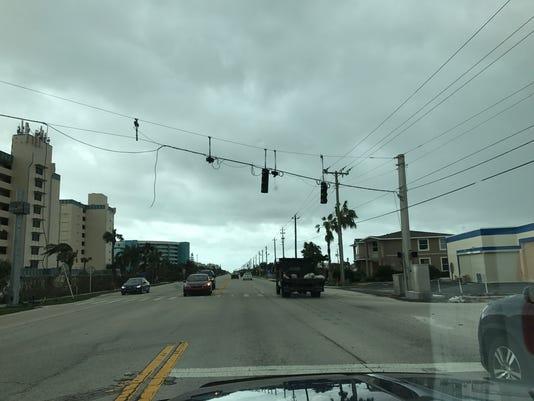 Non-working traffic lights