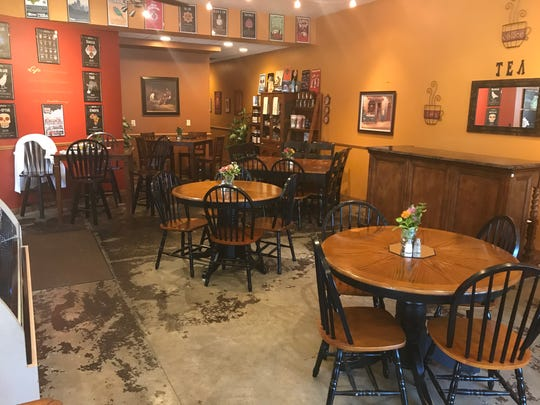 Quarry Coffee prides itself on a comfortable, friendly atmosphere.