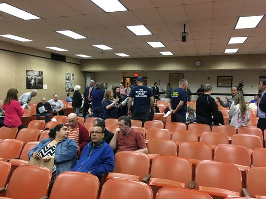 Clarkstown residents await the Town Council's decision