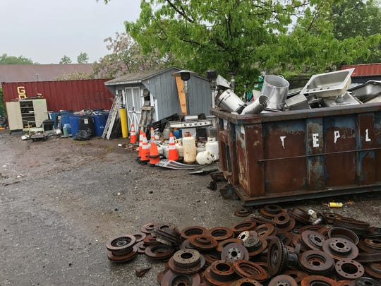 The West Milford Recycling Center as seen on May 25,