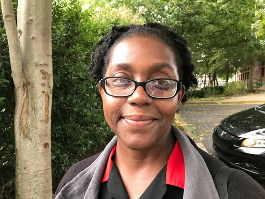 Asheville resident Nasha McMillan, 45, said her wages