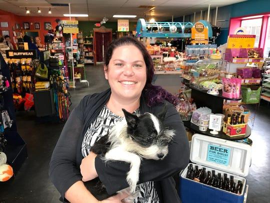 Jenna Wilson, owner of Patton Avenue Pet Company, says