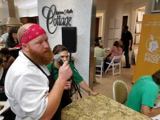 Chef Jacob Mouser is sous chef of Frank's Pizza Napoletana.