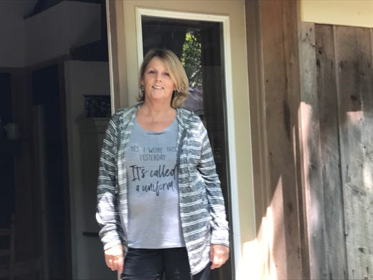 One of several Airbnb operators in Collierville, Sheila