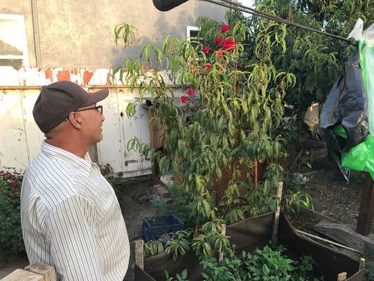 Salinas farm worker Benjamin Soto Fernandez enjoys