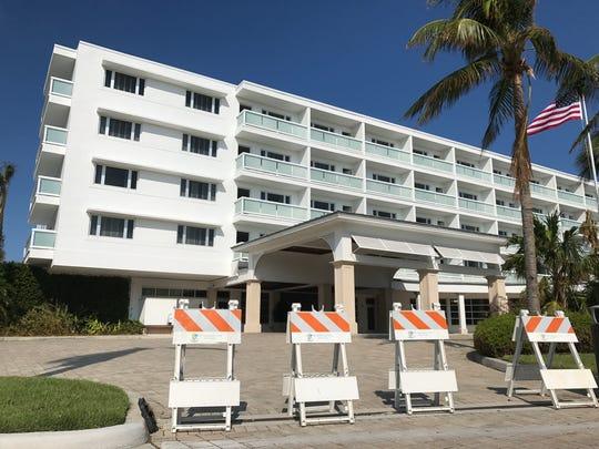 The Naples Beach Hotel & Golf Club is closed through