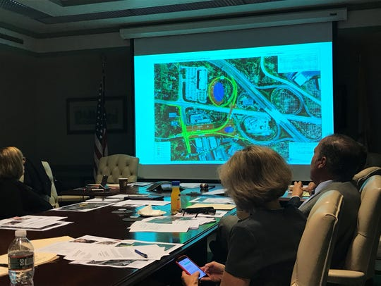 Morris County freeholders view renderings of proposed