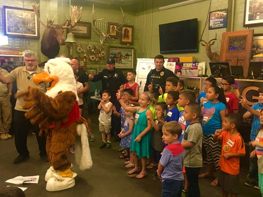 Eddie Eagle gun safety event