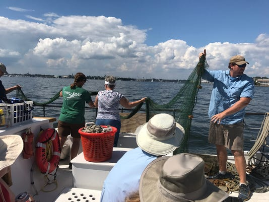Watershed Stewards spend day on he Chesapeake Bay