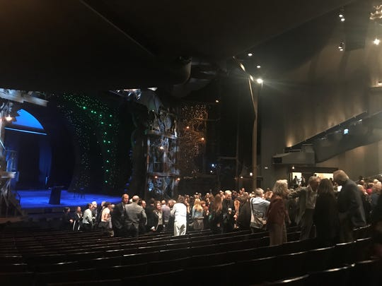 Hundreds filled the Gershwin Theater for a tribute