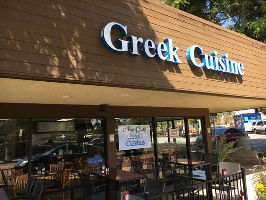 Greek Cuisine at 315 Carmen Drive in Camarillo is open