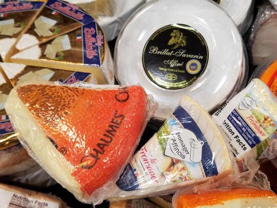 Lovers of soft ripened French cheeses will enjoy a