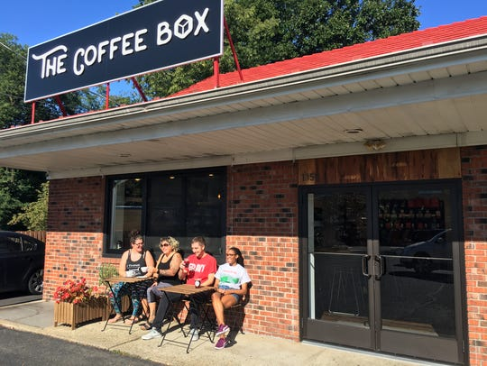 The Coffee Box receives about 300 weekly visitors.