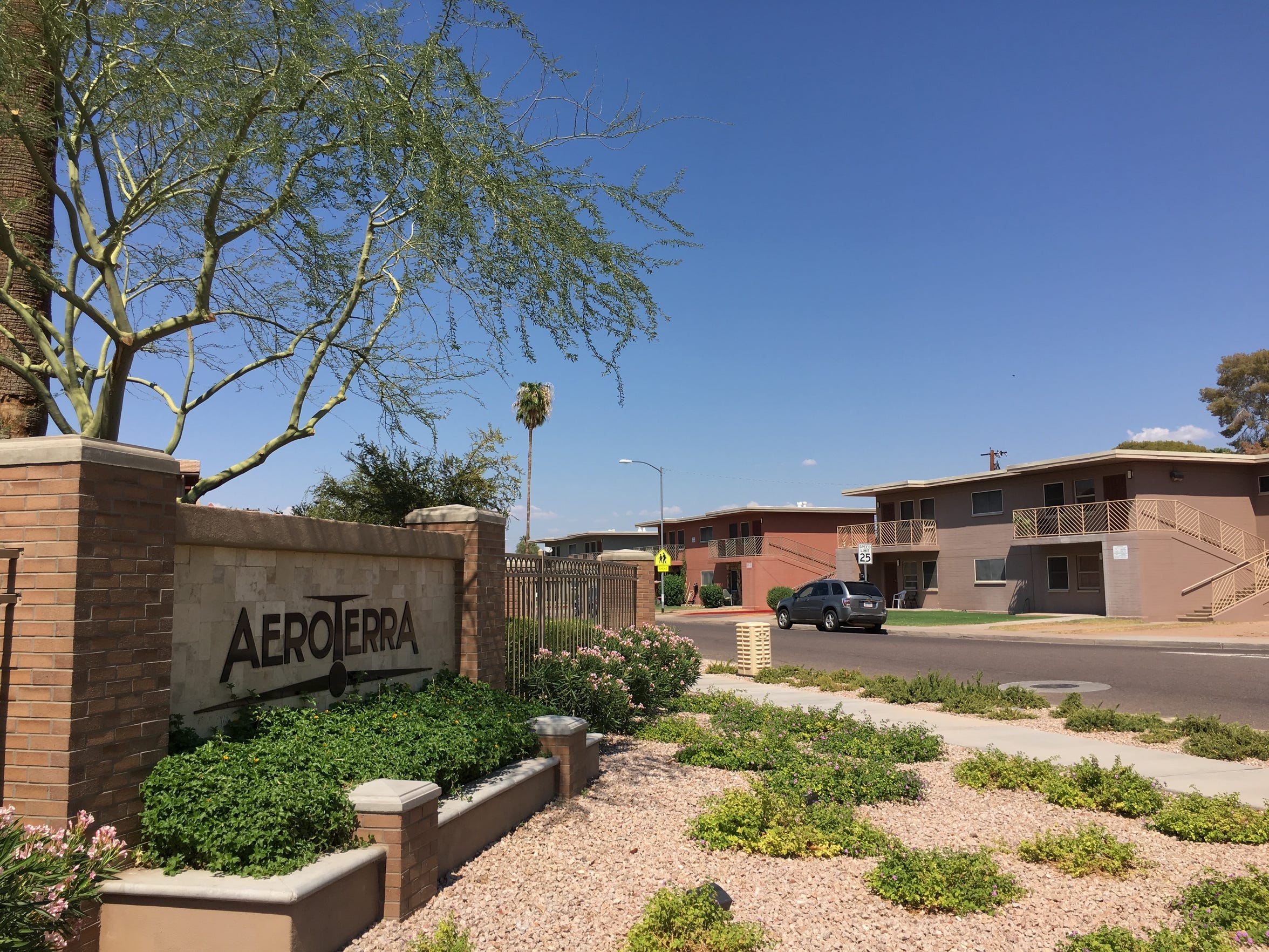 AeroTerra, built in the new style of public housing, sits just across the street from the 70-year-old projects of Edison-Eastlake.