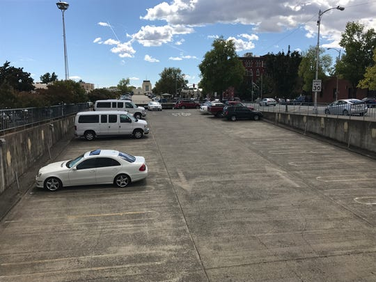 Redding police are investigating a crime that may have taken place in the California Street parking garage in downtown Redding.
