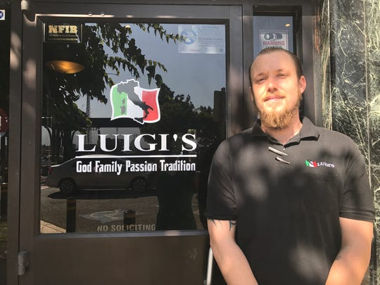 Ryan Gerhard was born and raised in Gonzales and is an assistant manager at Luigi's restaurant in downtown Gonzales.