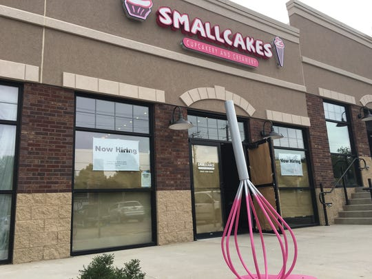 The exterior of Smallcakes, in the Lake Lorraine development.