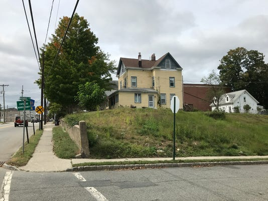 The Riverdale Zoning Board of Adjustment turned down a plan to redevelop the site pictured here at the corner of Hamburg Turnpike and Morris Avenue into a six-unit townhouse.
