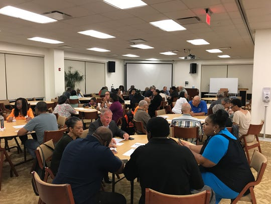 Residents discuss the levels of government in New Jersey,