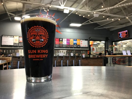 Cowbell Milk Porter from Sun King Brewery.