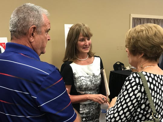Republican governor candidate Beth Harwell at the Sept.