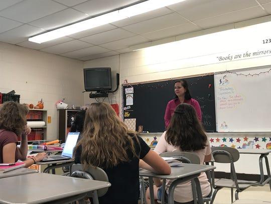 Nicole Petrosillo, Passaic County's teacher of the