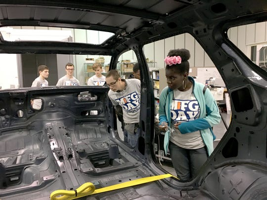 Students from Oakland Schools' Technical Campus in