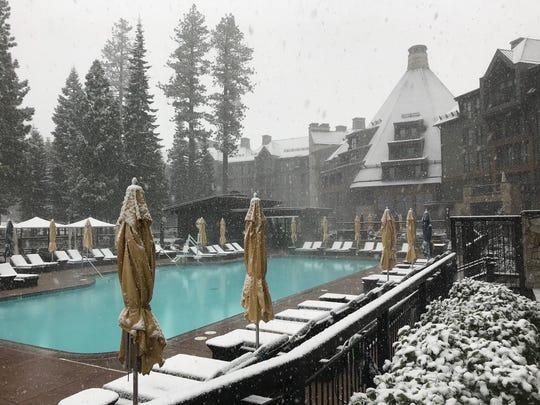 The Ritz-Carlton, Lake Tahoe in Truckee, California.