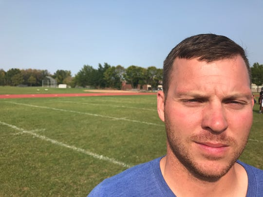 Matthew Sowers, co-varsity football coach at Edison.