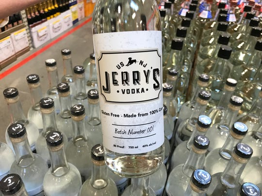 Jerry's Vodka, one of the made in New Jersey products