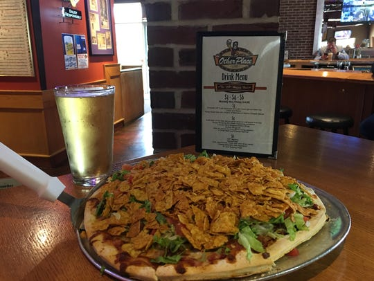 Taco Pizza at The Other Place.