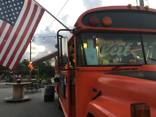 The Captain Roy's food truck has a permanent home at