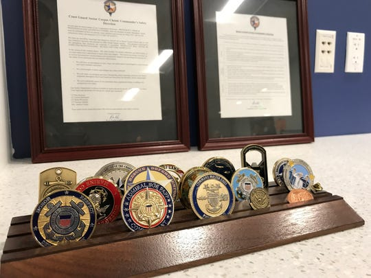 U.S. Coast Guard Sector/Air Station Corpus Christi officials are putting the finishing touches on their new facility at the Corpus Christi International Airport. The building is scheduled to be fully operational next month.