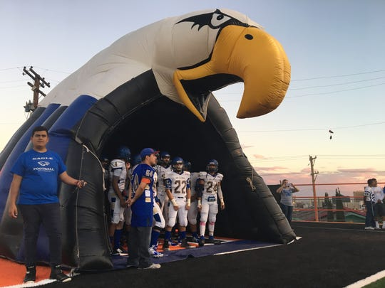 San Elizario prepares to take the field against Cathedral