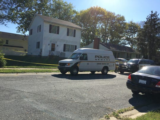 Police continue to investigate on Saturday a woman's