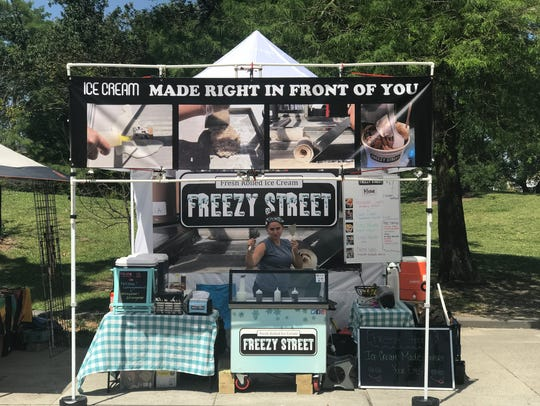 Freezy Street started as a pop-up concept.