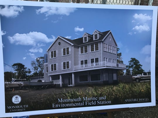 Monmouth University and Rumson Borough officials unveiled