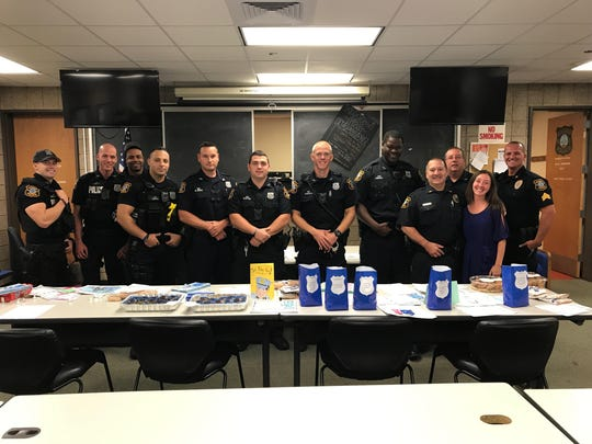 The Edison Police Depatment was honored to receive the thoughtful messages and show of appreciation from Saint Helena's School.